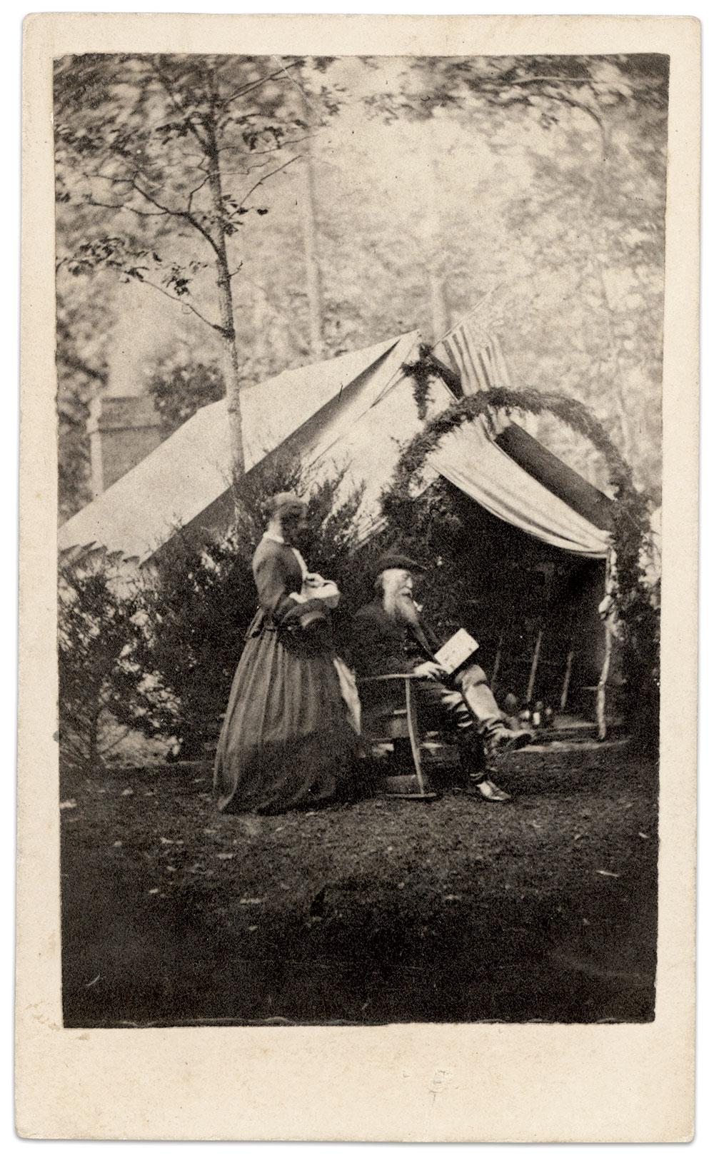 Carte de visite by P.S. Weaver of Hanover, Pa. Ronald S. Coddington Collection.