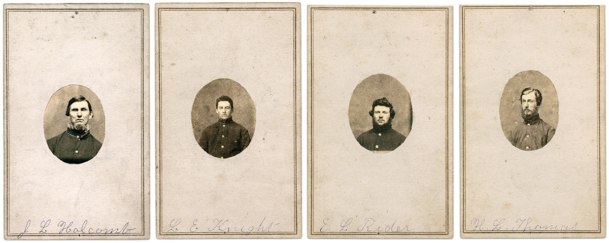 Cartes de visite by Samuel T. Young.The Wisconsin Veterans Museum, Madison, Wis.