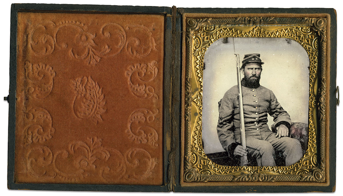 Sixth-plate tintype attributed to Charles R. Rees of Richmond, Va.