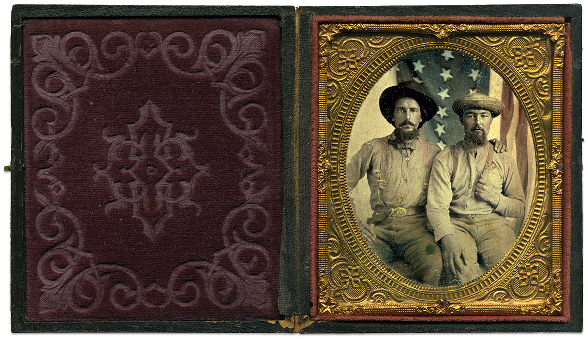 Sixth-plate tintype by an anonymous photographer