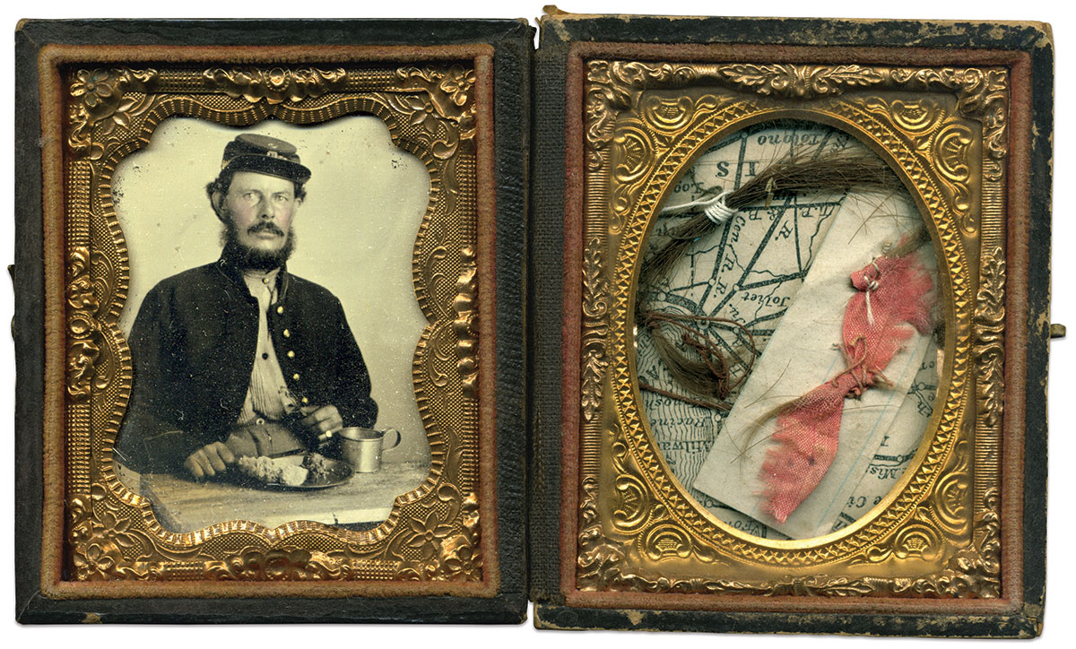 Ninth-plate tintype by an anonymous photographer.