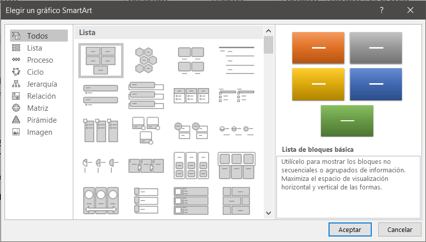 Ilustración 36-Diagramas y smartArt