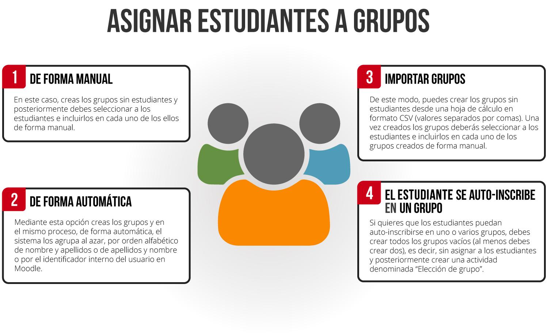 Asignar estudiantes a grupos