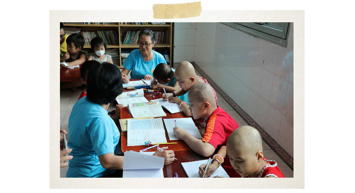 The class, opened on September 4, 2009, has welcomed thousands of children so far (Photo: VietnamPlus)