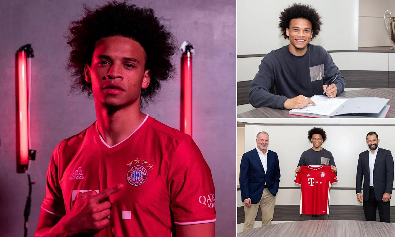 Thương vụ chuyển nhượng Sane từ Man City đến Bayern kéo dài 14 tháng. (Nguồn: FcBayern)