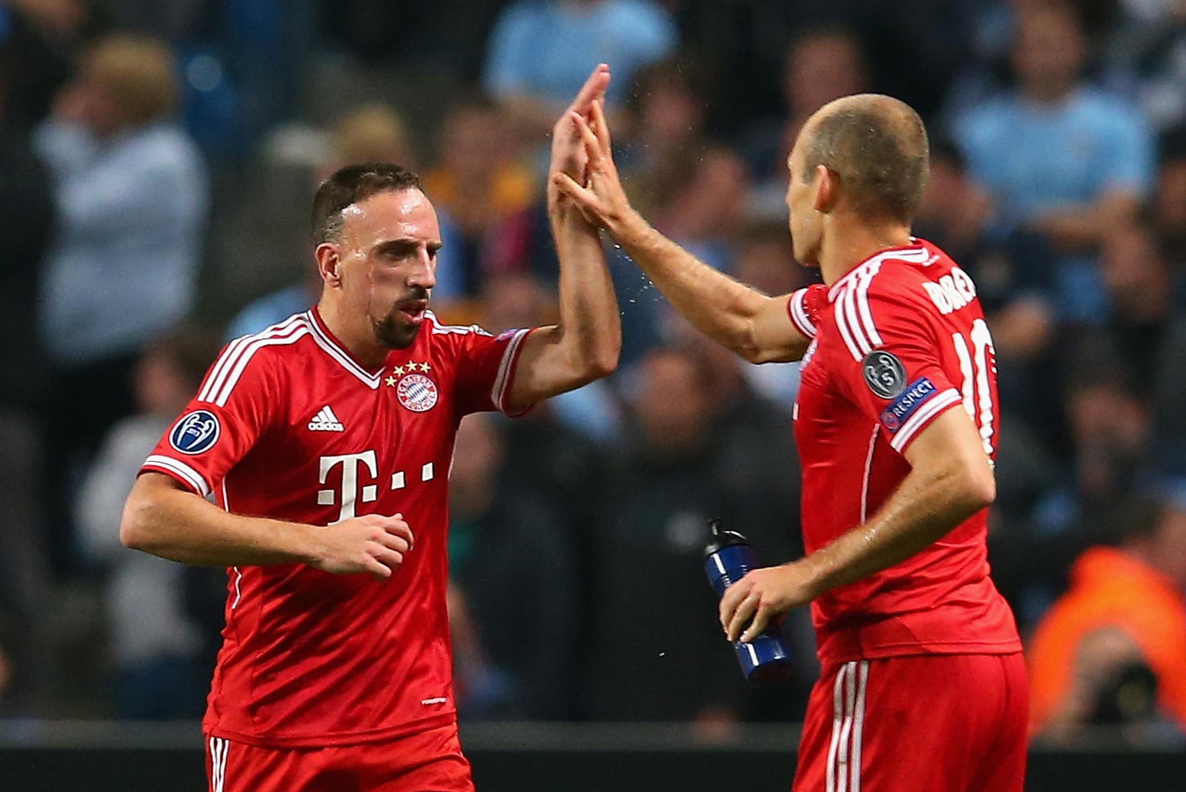 Khoảng trống mà Ribery và Robben để lại không hề nhỏ.