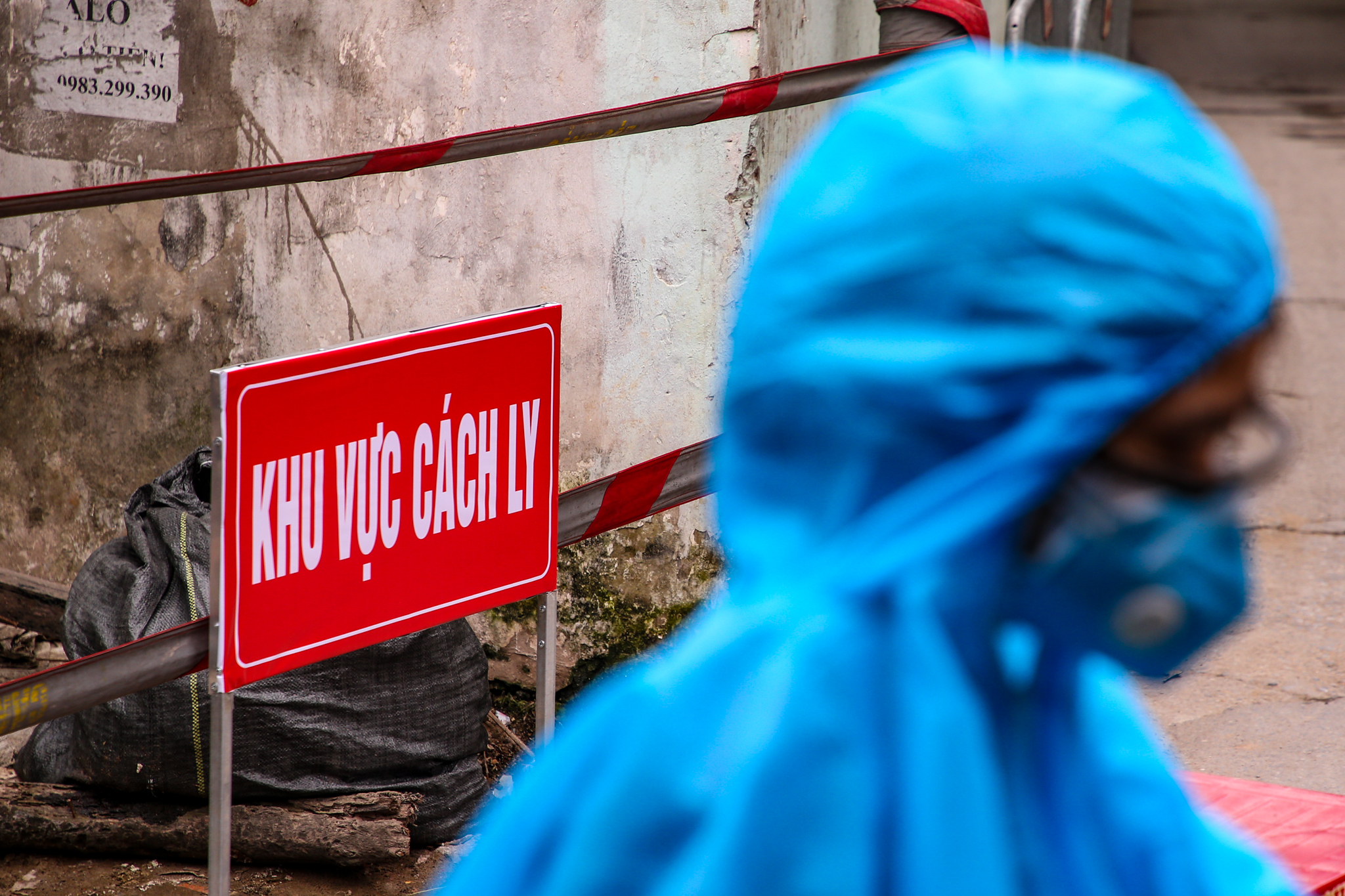 隔离区。图自Vietnam+