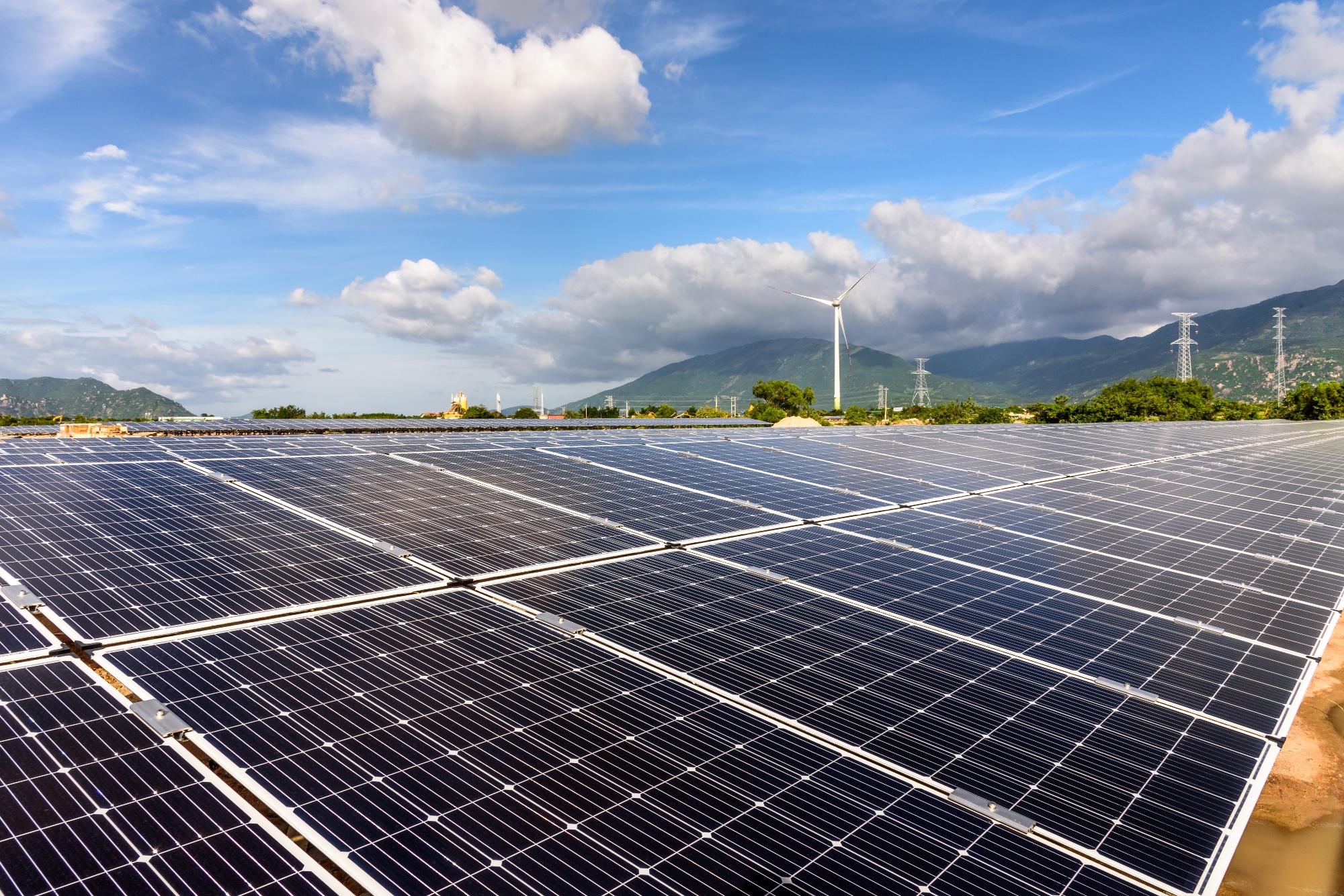Вьетнам продвигает проекты солнечной энергетики. (Фото: Министерство природных ресурсов и окружающей среды)