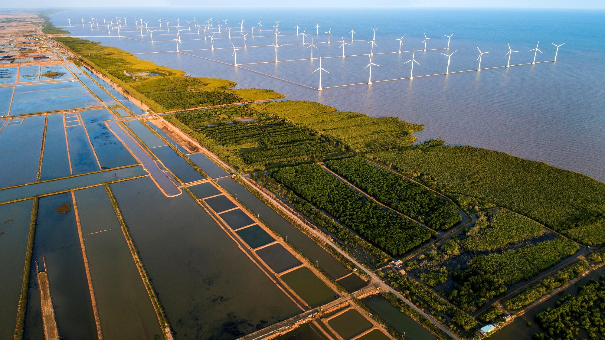 Развитие проектов возобновляемой энергетики во Вьетнаме. (Фото: Министерство природных ресурсов и окружающей среды)
