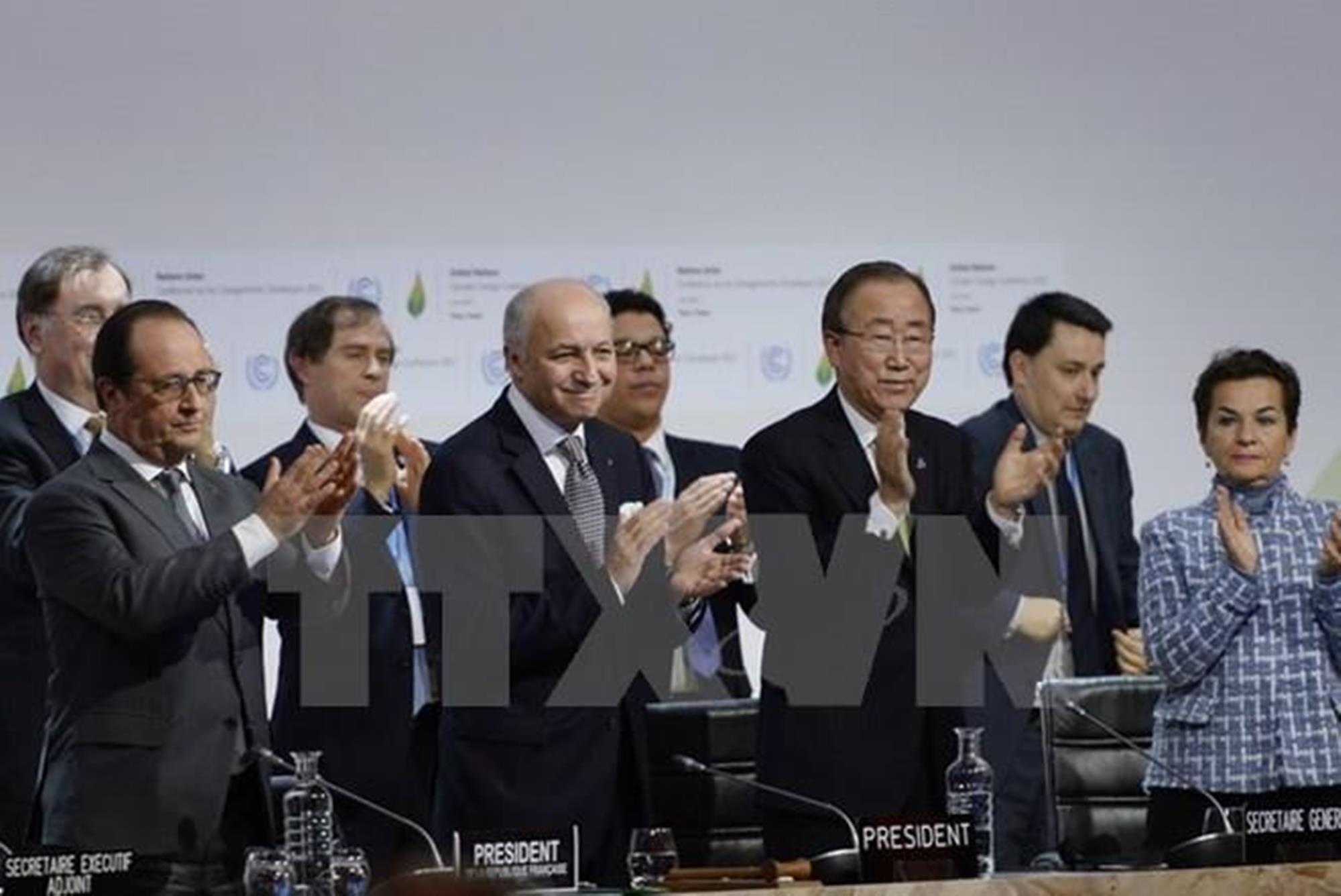 Делегаты стран на COP21 - Парижский договор об изменении климата. (Фото: AFP / ВИА)