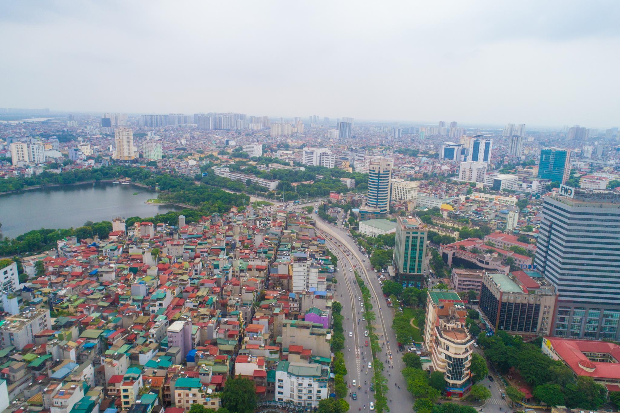 Đường Vành đai 1. (Ảnh: Minh Sơn/Vietnam+)