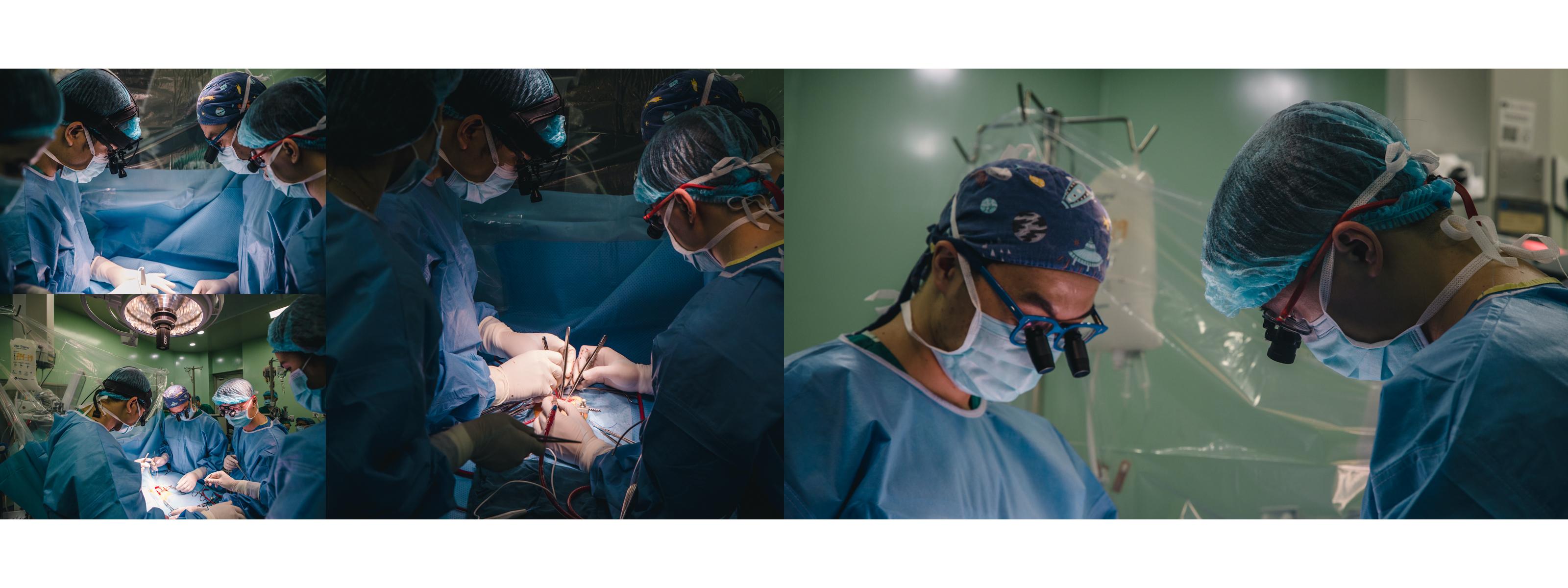 Bắt đầu ra trường từ năm 2002, gần 19 năm gắn bó với nghề và công tác tại Bệnh viện Nhi Trung ương, gần 9 năm mổ chính, bác sĩ Nguyễn Lý Thịnh Trường không thể nhớ nổi đã từng cầm dao thực hiện bao nhiêu ca mổ. Rất nhiều ca mổ mất hàng chục tiếng đồng hồ và ca nào cũng có những thách thức riêng của nó. (Ảnh: Minh Sơn/Vietnam+)